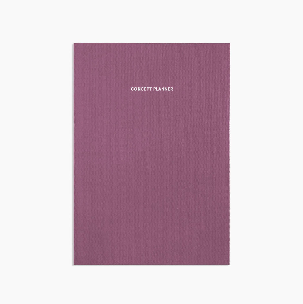 Poketo Concept Planner in Plum. Available at Easy Tiger Toronto.