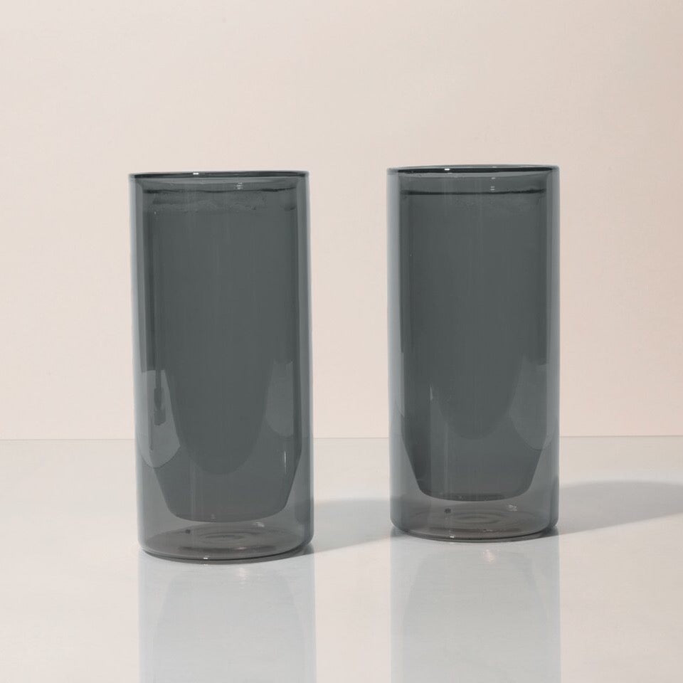 Double-Wall 16oz Glasses - Set of 2