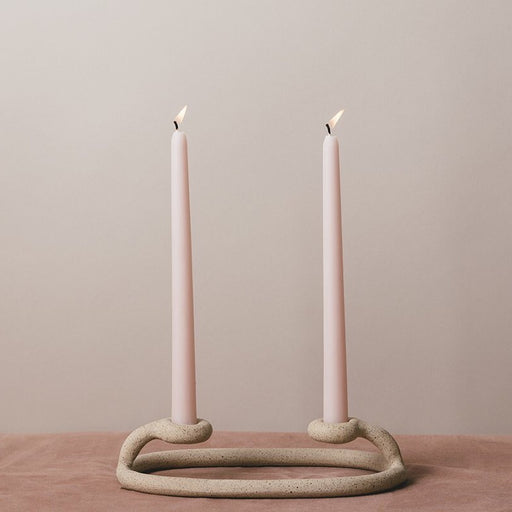 Duo Candlestick - Speckled
