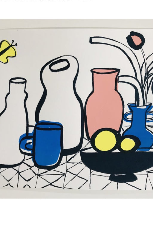 Vases and Lemons and Tulips