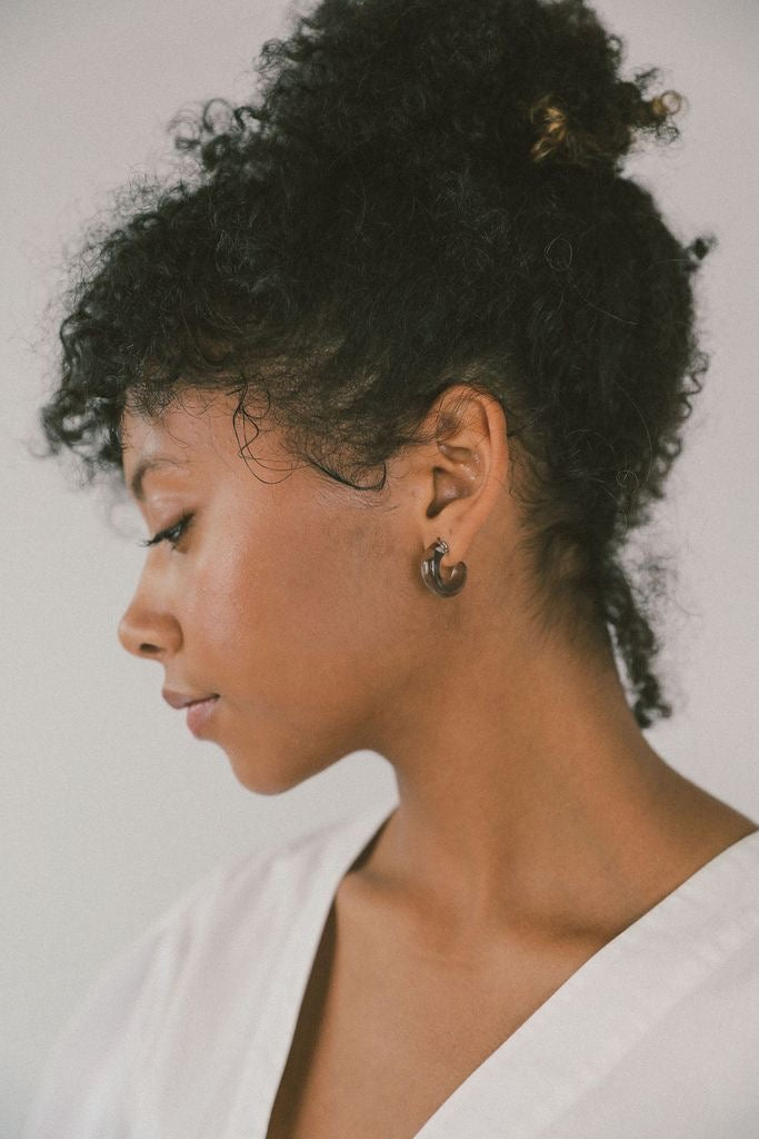 Small Glass Hoops