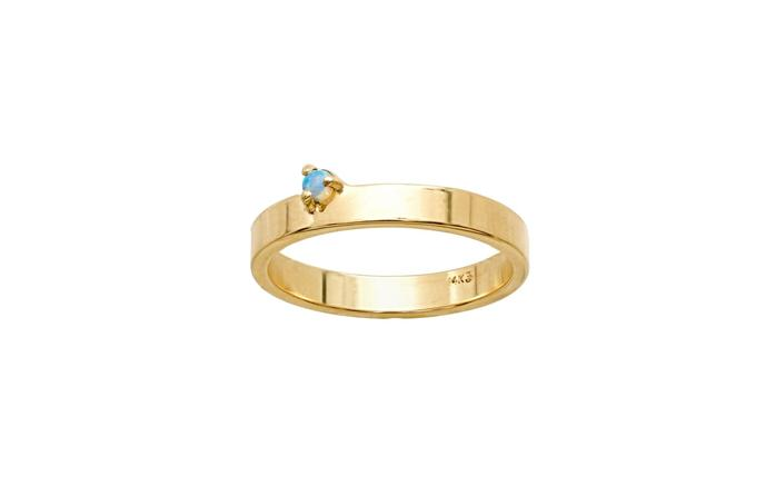 Bove Opal Band Ring
