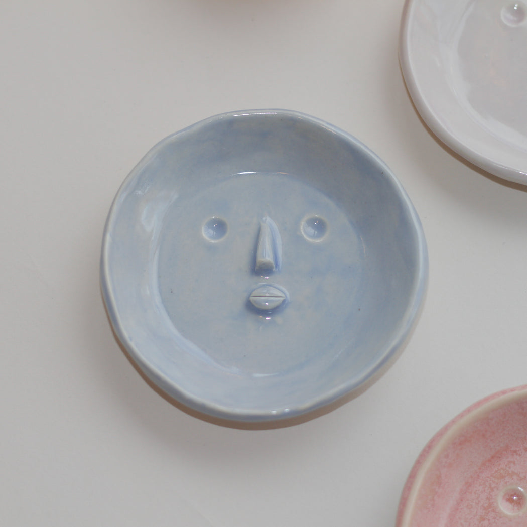 Small Picasso Face Dish