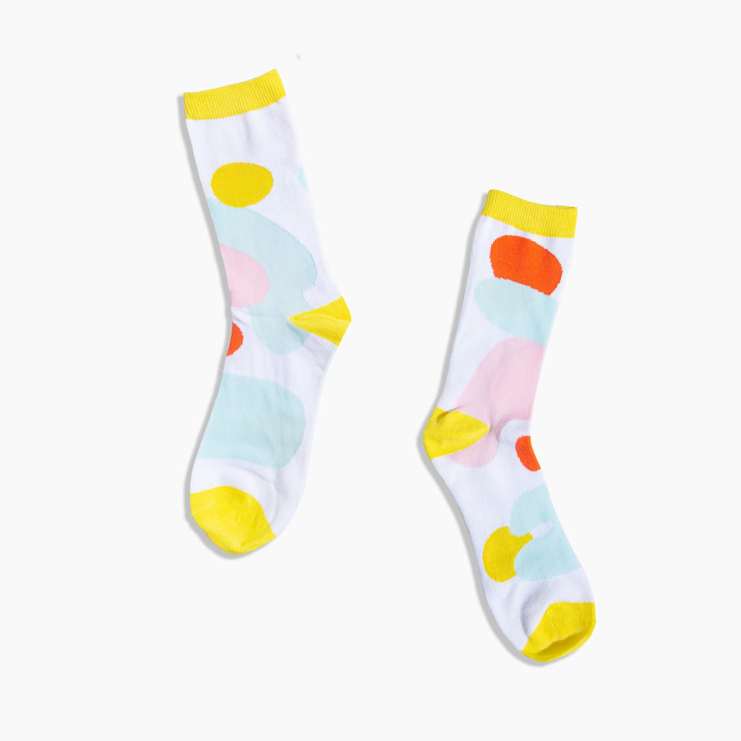 Poketo Crew Socks in Puddles. Available at Easy Tiger Toronto.