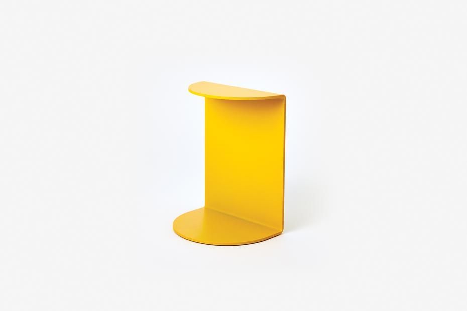 Areawear Reference Book End, yellow. Available at Easy Tiger Goods Toronto.