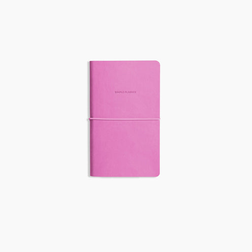 Poketo Simple Planner in Fuscia. Available at Easy Tiger Toronto.