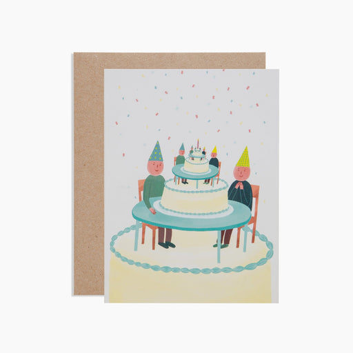 Poketo Surrealist Birthday Card. Available at Easy Tiger Goods Toronto.