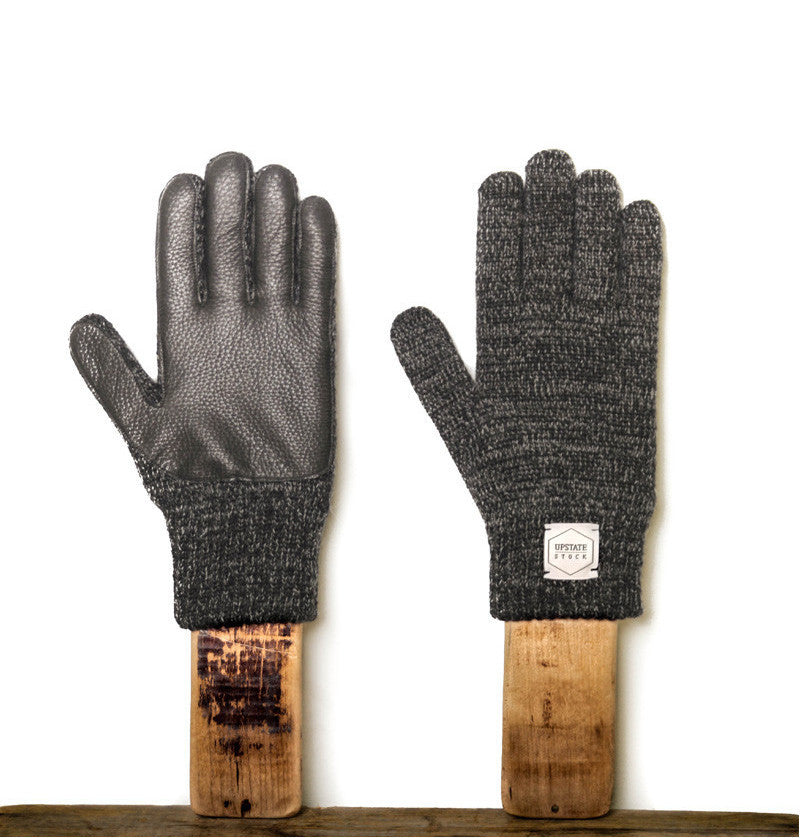 Finger Gloves With Deerskin