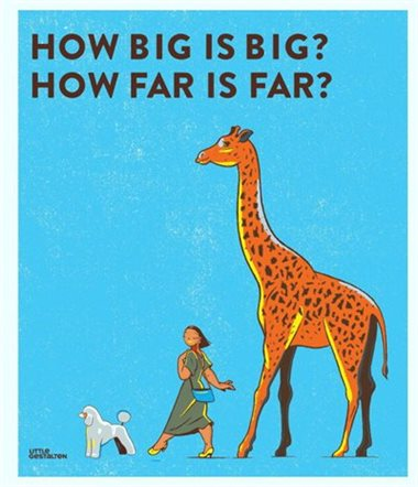 How Big is Big? How Far is Far?
