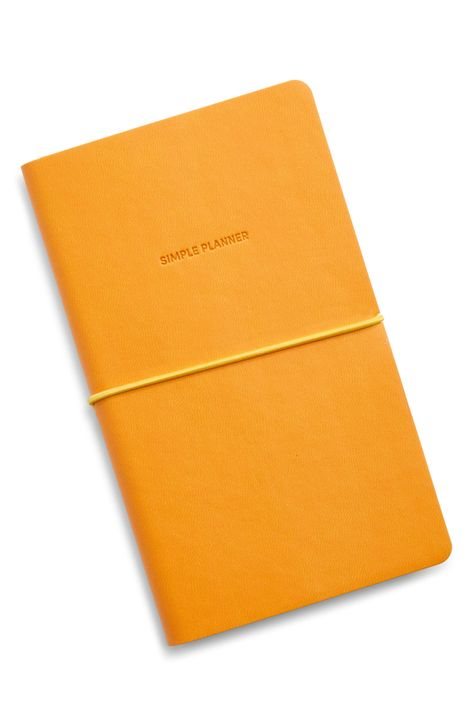 Poketo Simple Planner in Yellow. Available at Easy Tiger Toronto.