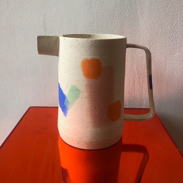 Zey Zey Multi Colour Pitcher