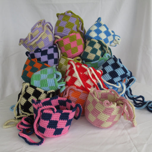 Checkered Plant Hangers