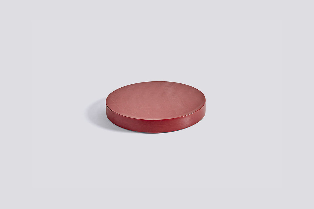 Round Chopping Board - Bordeaux, Medium