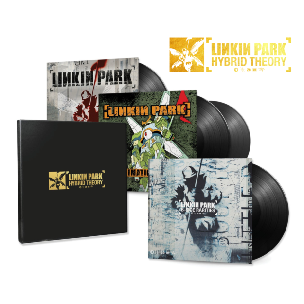 Linkin Park - Hybrid Theory - 4LP (20th Anniversary Edition Box Set)