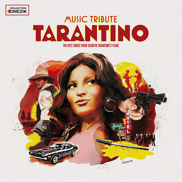 Various Artists - Music Tribute Tarantino - The Very Best Songs From Quentin Tarantino's Films - 2LP