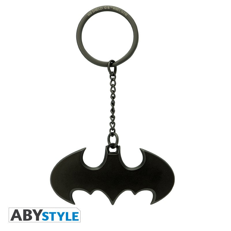 Batman Batarang Design DC Comics Licensed Black High Quality Metal 3D Keychain