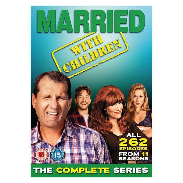 Married with Children Seasons 1-11 The Complete Series 34 Disc DVD Box Set