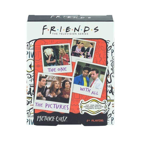 F.R.I.E.N.D.S. Picture Quiz Trivia Game