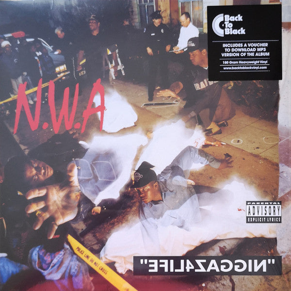 N.W.A – Efil4zaggin / 100 Miles And Runnin' - LP