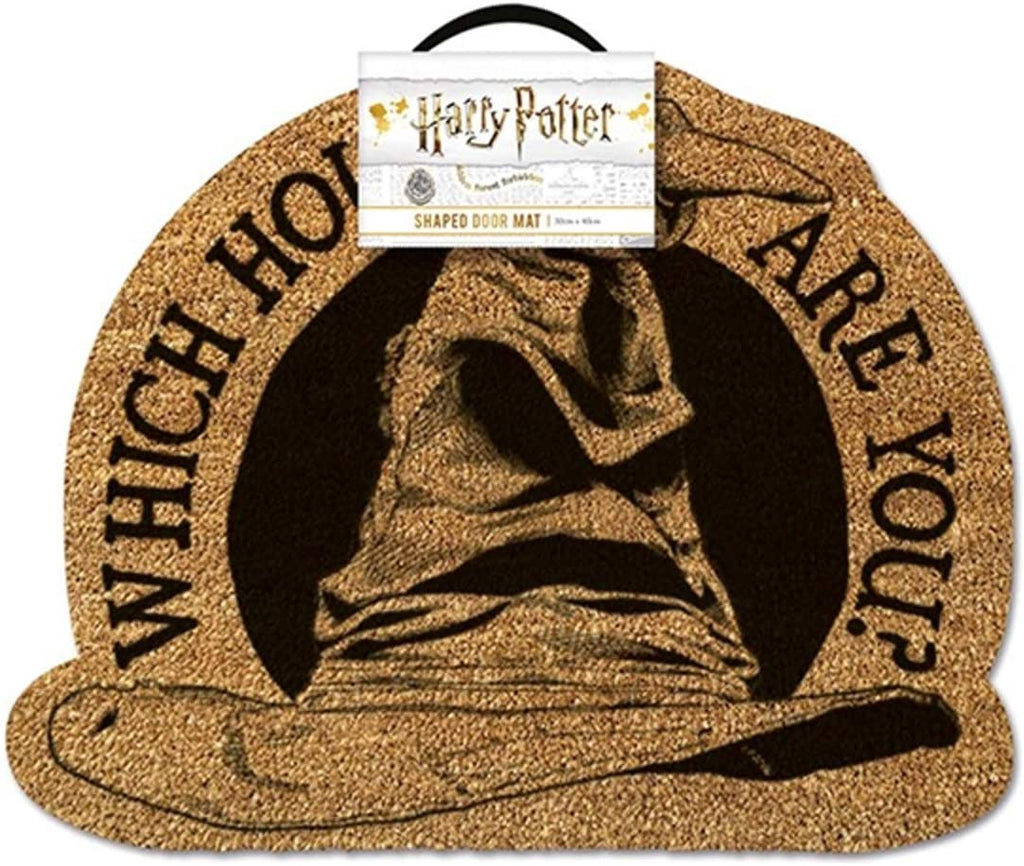 Harry Potter - 'Which House Are You?' (Sorting Hat) Doormat