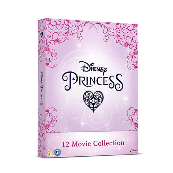 Disney Princess 12 Movie Collection Blu-ray Box Set