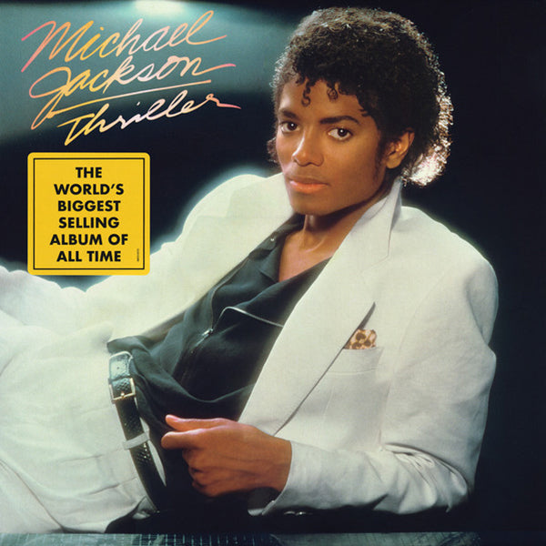 Michael Jackson - Thriller - LP (The World's Biggest Selling Album of All Time)