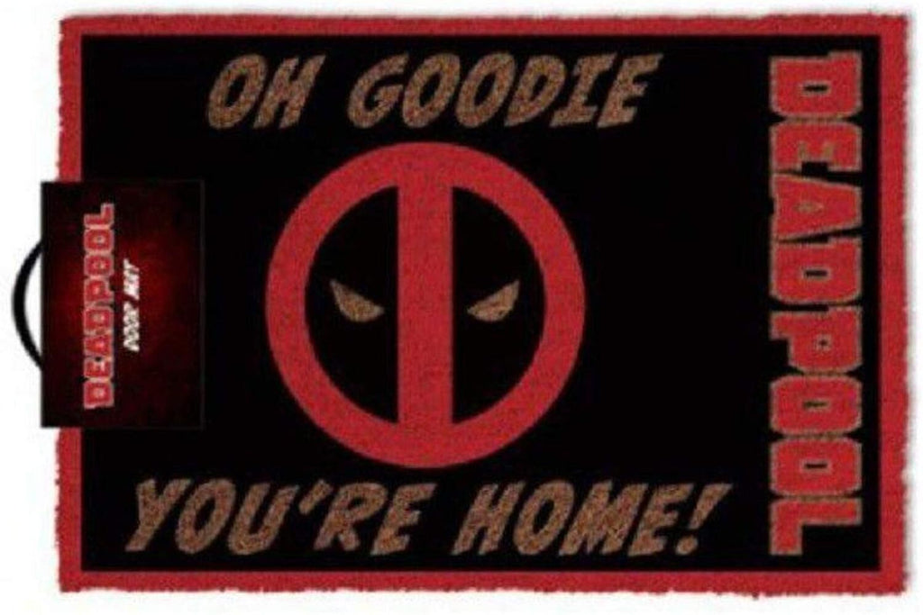 Deadpool - 'Oh Goodie, You're Home!' Doormat dubai