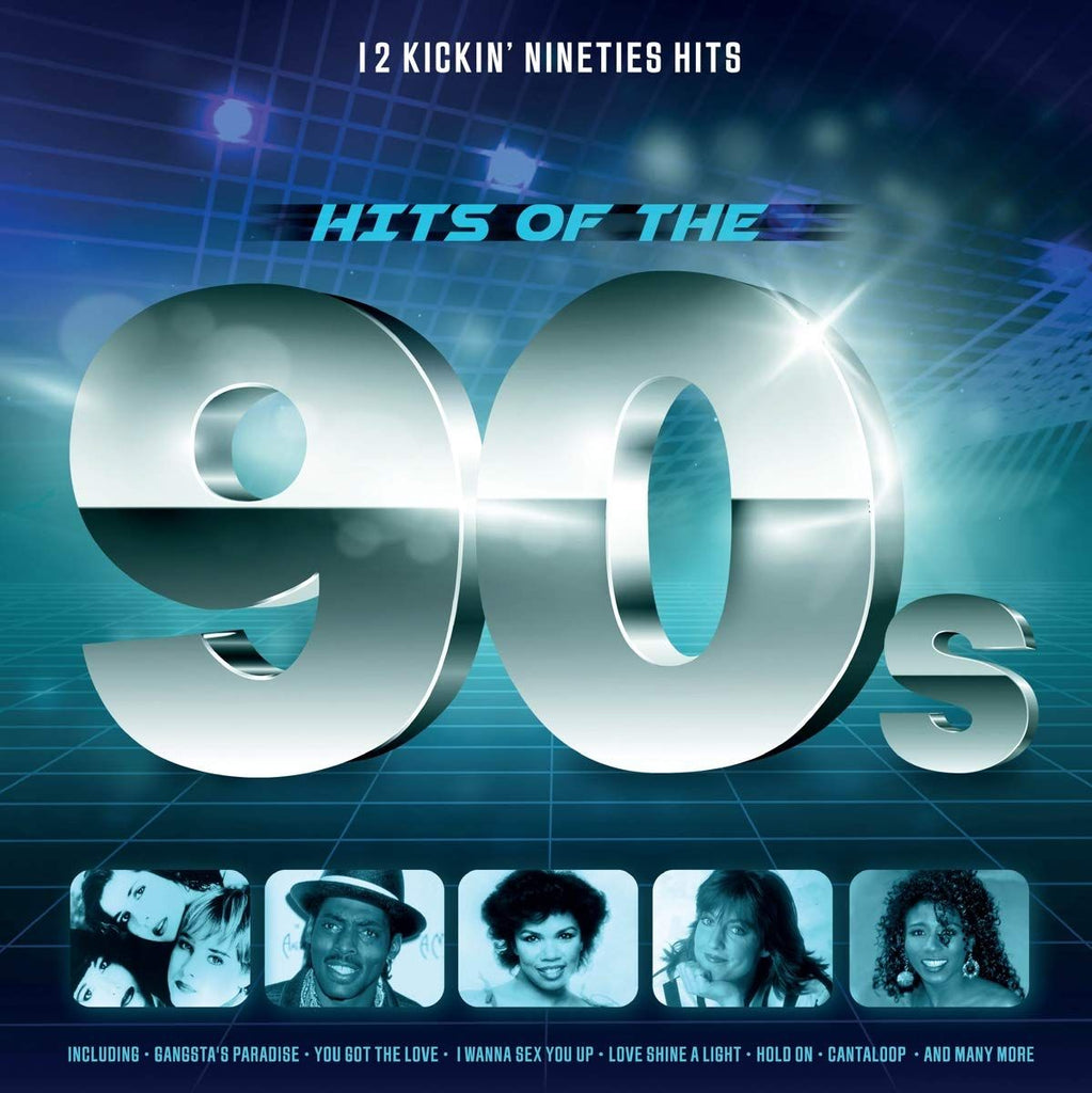 Various Artists - Hits of the 90s (12 Kickin' Nineties Hits) - LP
