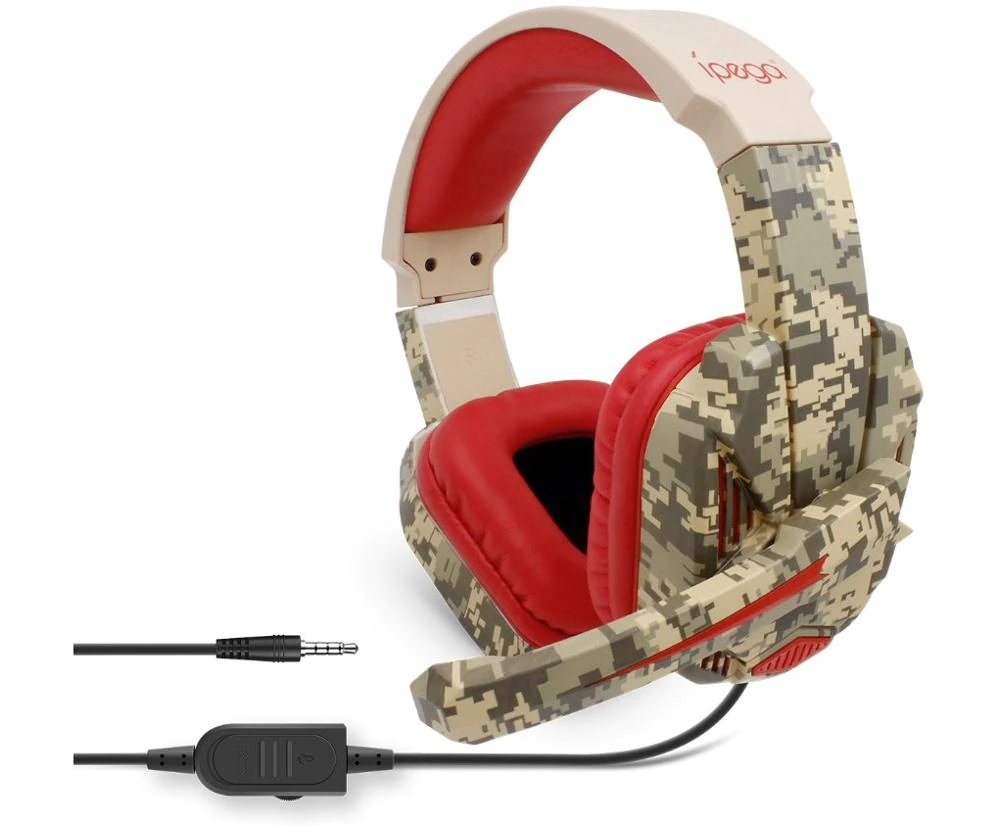 Ipega: PG-R005 - Noise Cancelling Gaming Headset | Gaming Headset Dubai