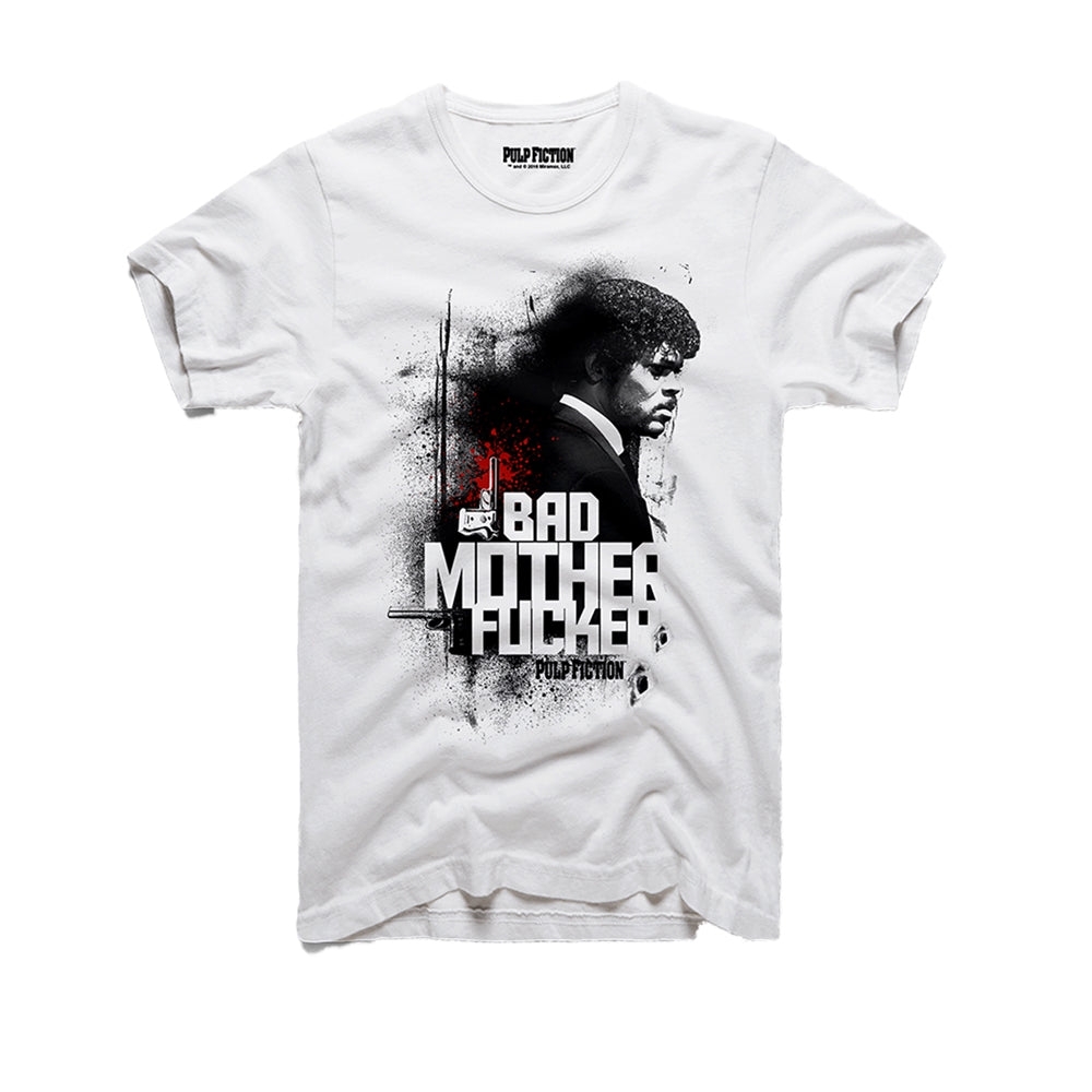 Pulp Fiction Bad MF White T-Shirt
