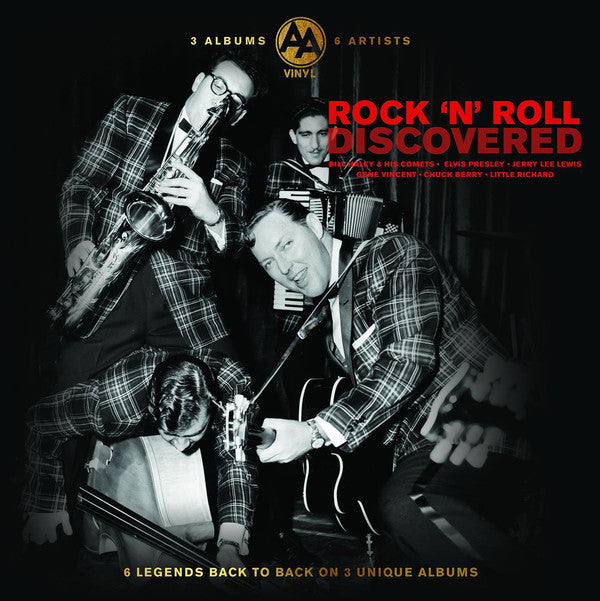 Various Artists - Rock 'n' Roll Discovered - 3LP
