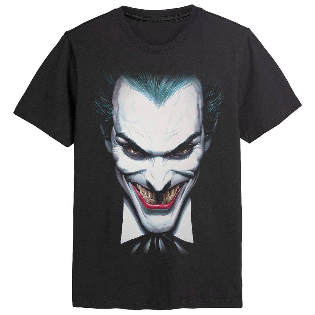 The Joker's Face Black T-Shirt