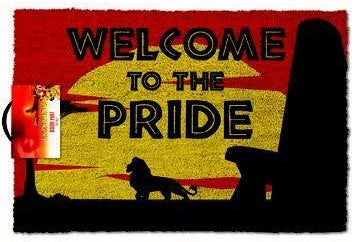 The Lion King - 'Welcome to the Pride' Doormat