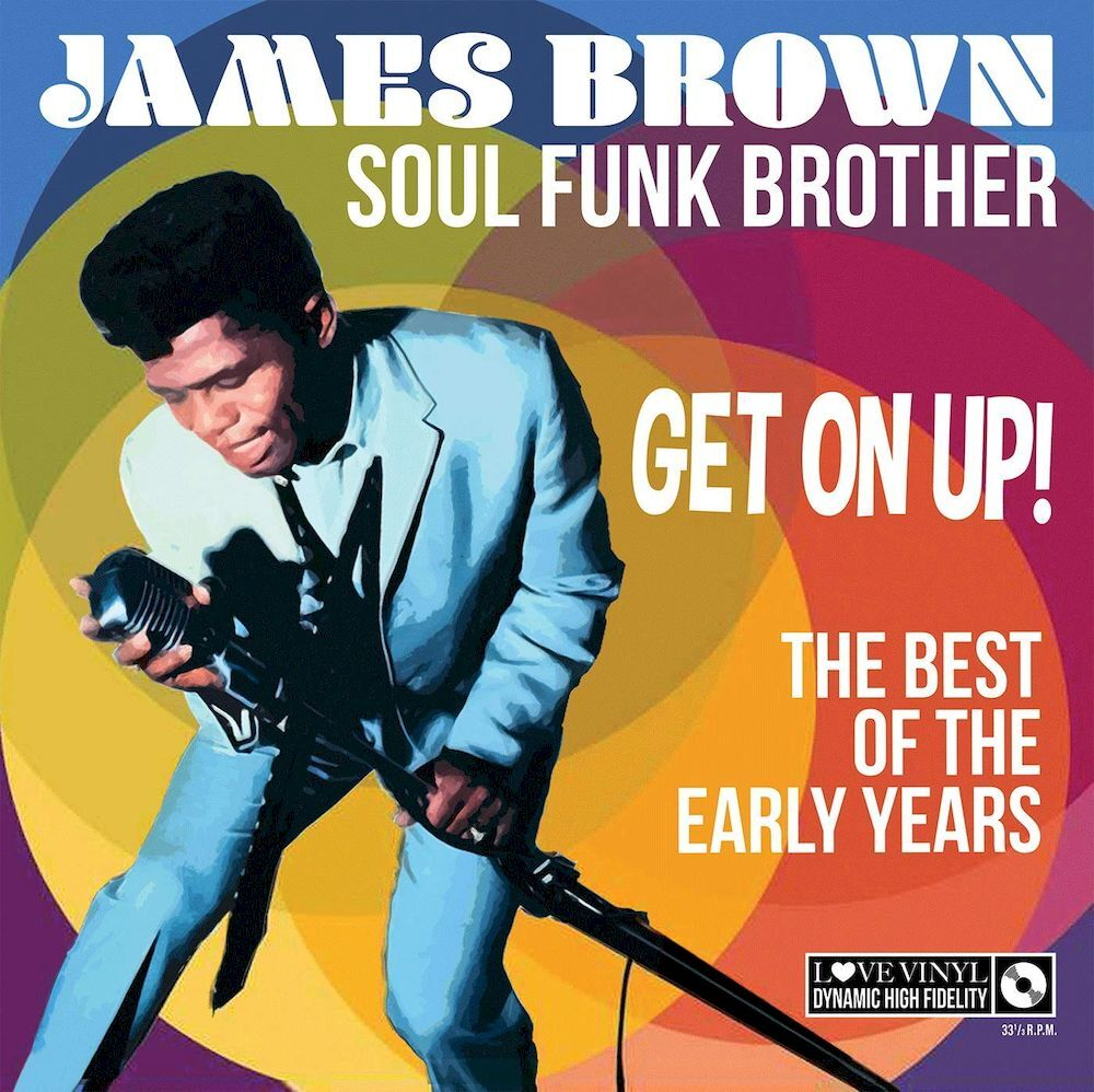 James Brown - Soul Funk Brother - LP Dubai