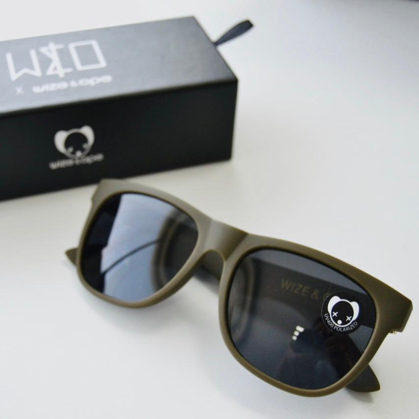 W&O : Drive - Green Khaki Sunglasses