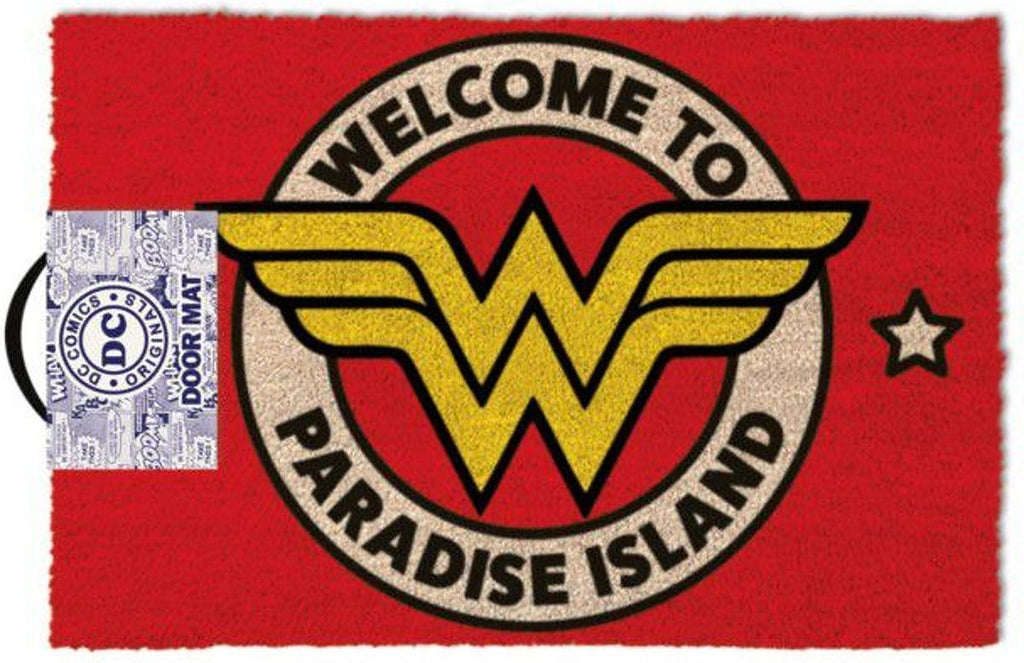 DC's Wonder Woman - 'Welcome To Paradise Island' Doormat