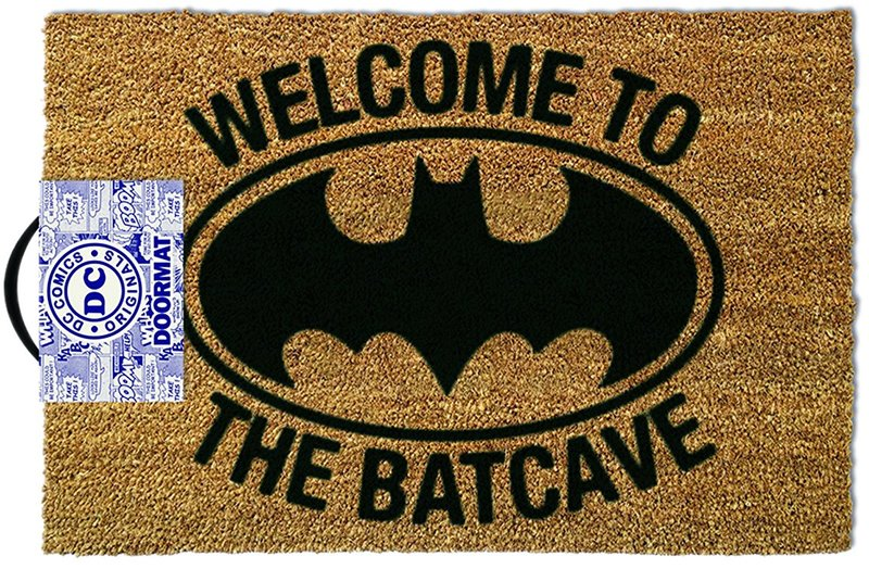 Batman - 'Welcome To The Bat Cave' Doormat | Buy door mats online Dubai