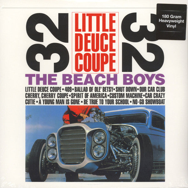 Beach Boys - Little Deuce Coupe - LP