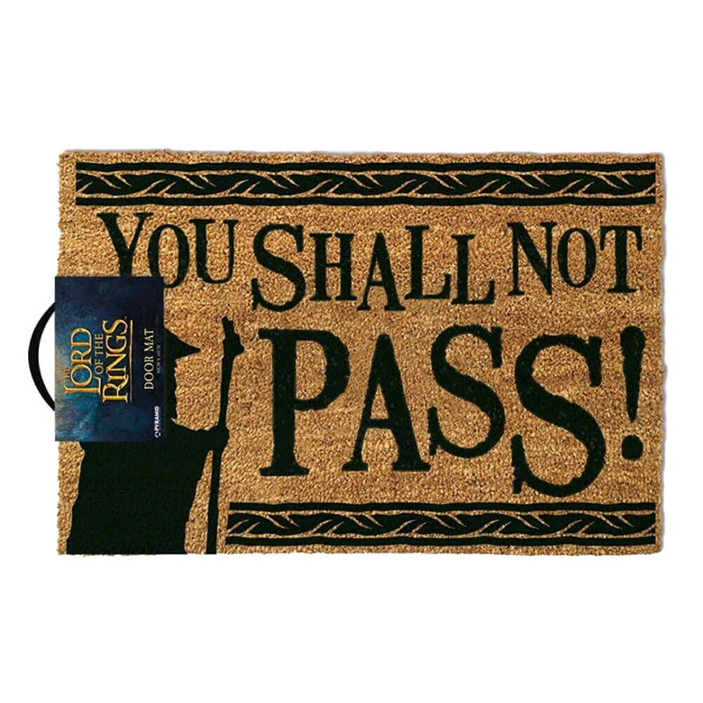 Lord of the Rings - 'You Shall Not Pass!' Doormat