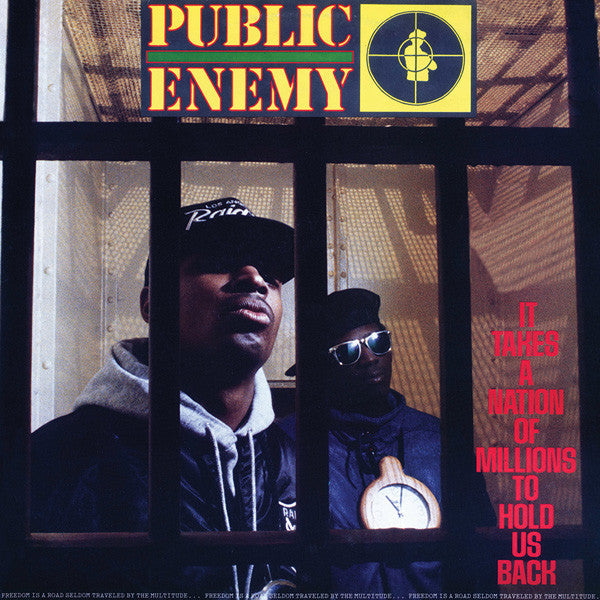 Public Enemy - It Takes A Nation Of Millions To Hold Us Back - LP