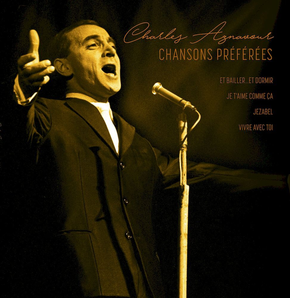 Charles Aznavour - Chansons Preferees - LP