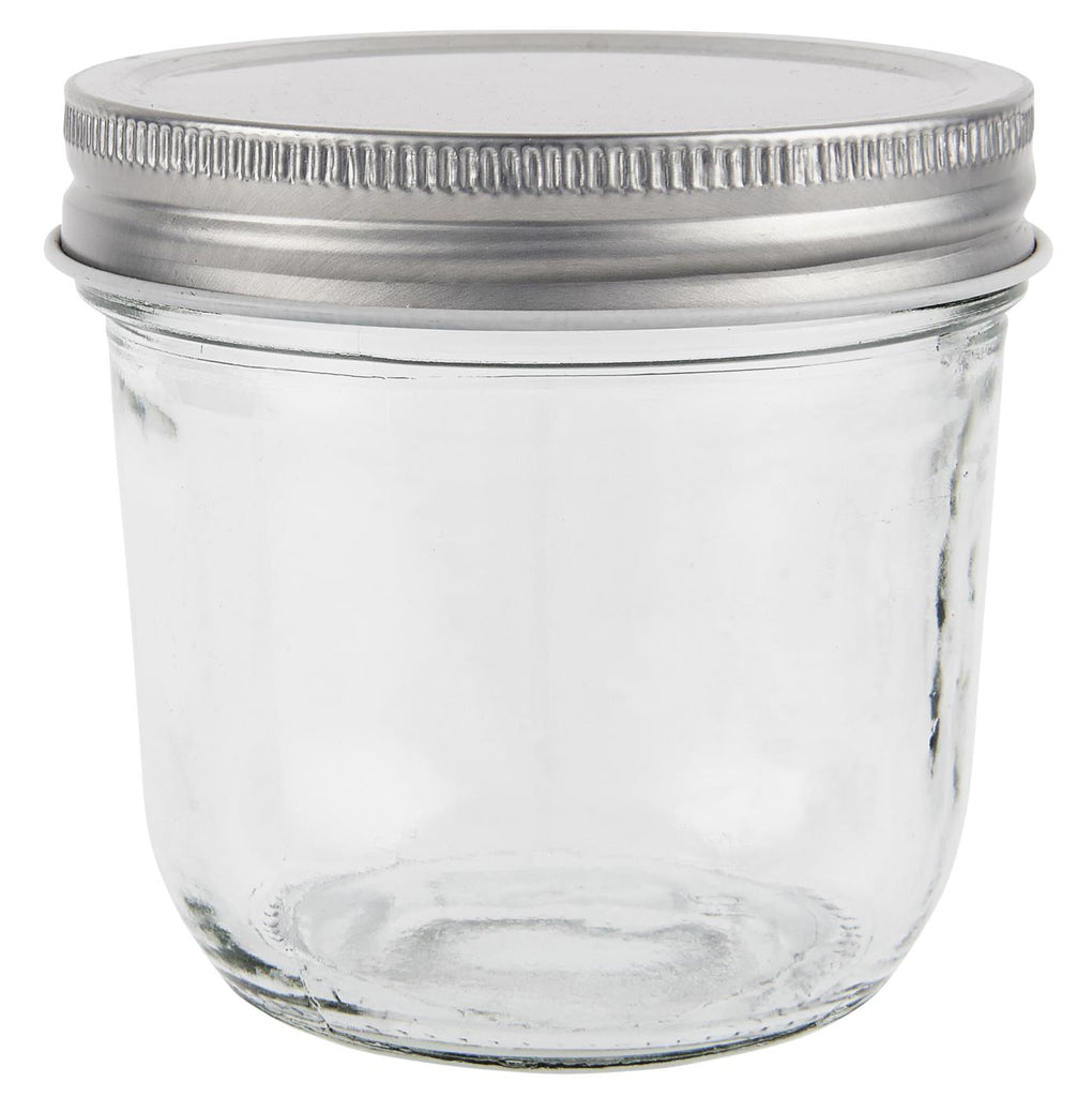 225ml Glass Storage Jar With Metal Lid