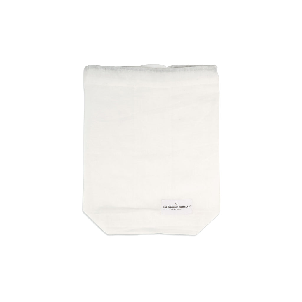 Medium Organic Food Bag - Natural White
