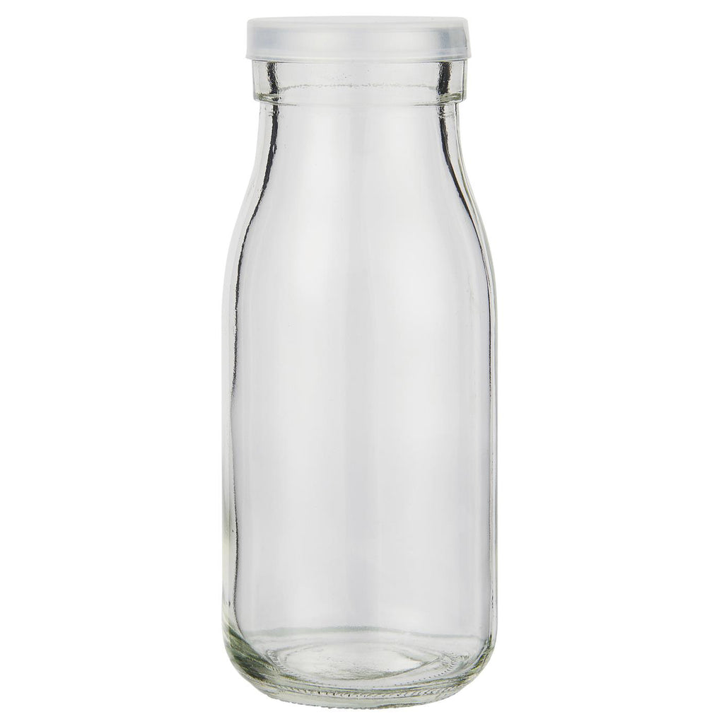 250ml Glass Storage Bottle With Plastic Lid