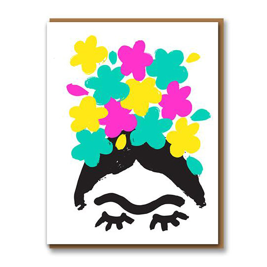 Frida Greetings Card