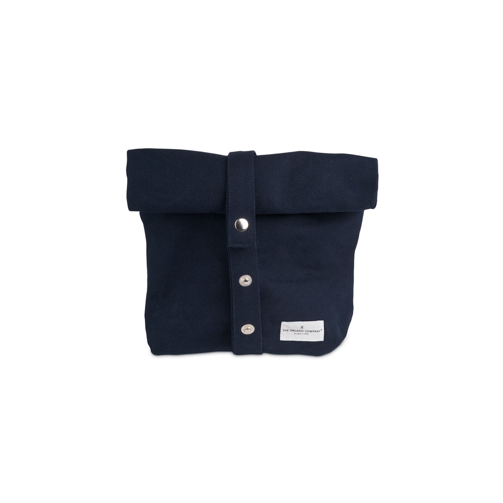 Organic Cotton Lunch Bag - Dark Blue