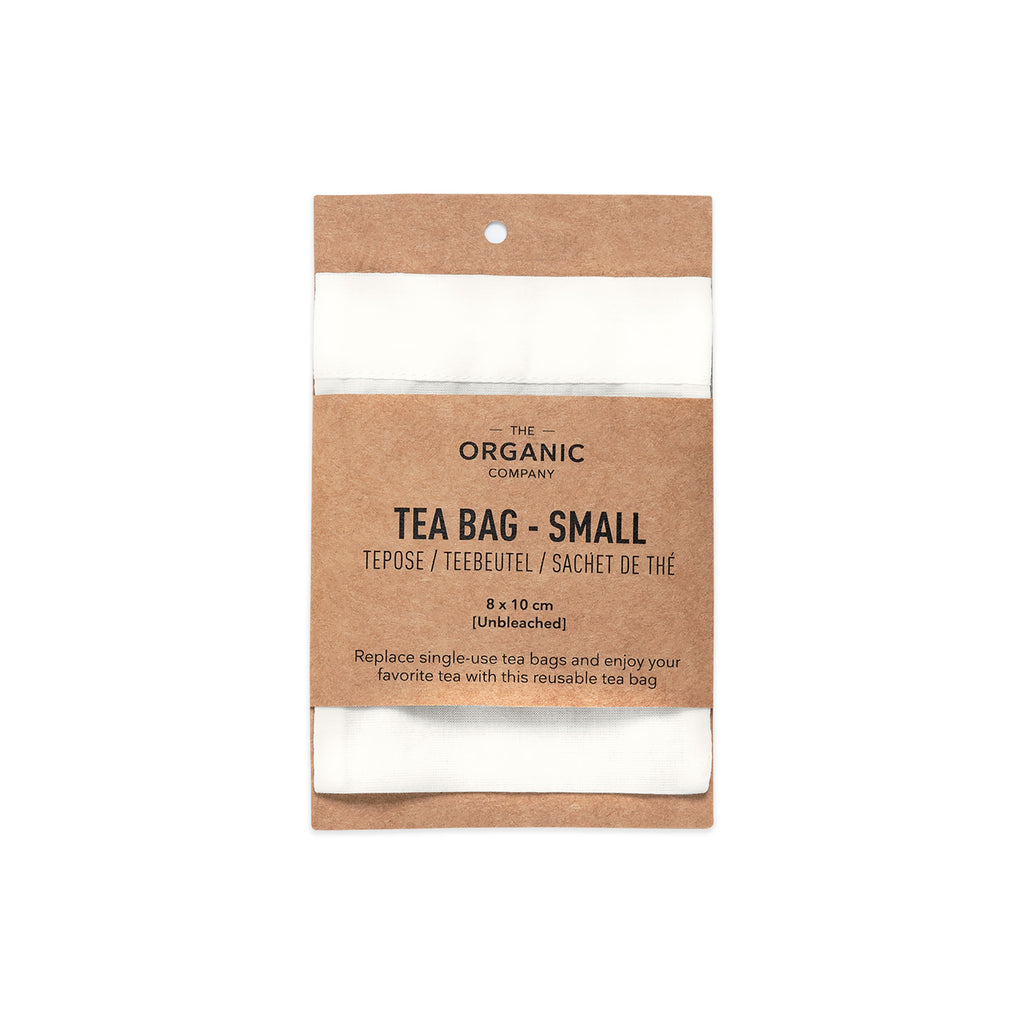 Reusable Organic Cotton Tea Bag - Small