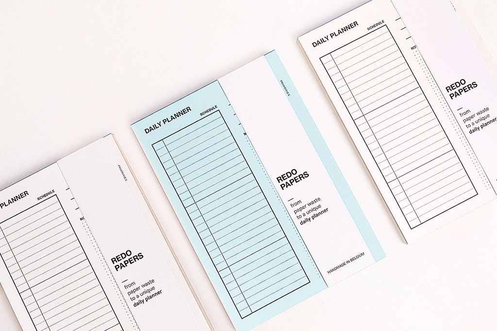 Recycled Daily Planner Pad