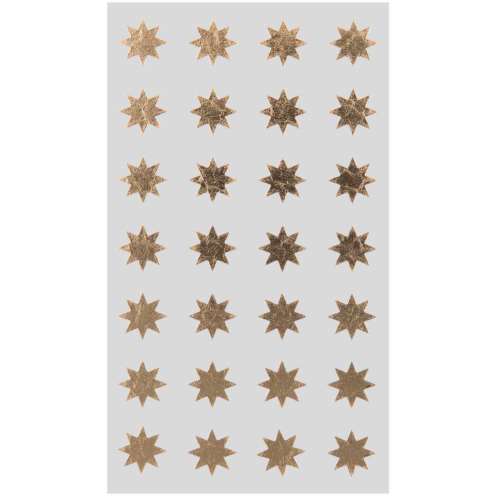 Sticker Pack - Gold Stars 13mm
