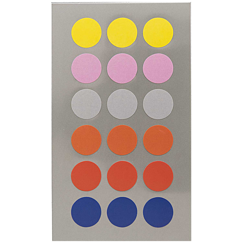 Sticker Pack - Bright Dots 15mm